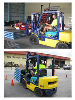 Sheffield fork lift training
